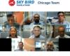 Sky Bird Travel and Tours Chicago team representative sending their video congratulations