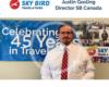 Justin Gosling Director Sky Bird Canada video still celebrating 45 years in business