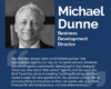 Business Development Director Michael Dunne celebrates 45 years in business honoring our WINGS Booking Engine