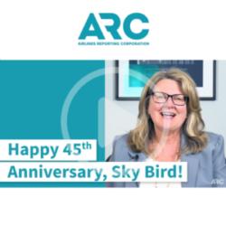 ARC representative sending their video congratulations